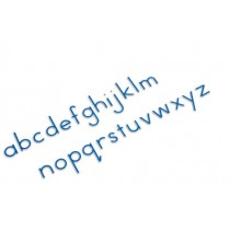 Small  Movable Alphabet Print - Blue /0060A5      NH-055.3    ■SOLD OUT■QUOTE REQUIRED■