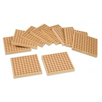 Wooden Hundred Squares - Set of 10/ 007410     NH-095  ■SOLD OUT■QUOTE REQUIRED■