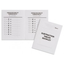 Subtraction Tables Booklet 2/559532        NH-122.2         ■SOLD OUT■