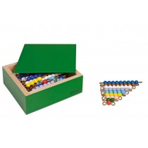 Colored Bead Stairs - 10 Sets with Box/0090AM      NH-126.3           ■SOLD OUT■