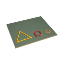 Working Board for Geometry Sticks/ 0194A0      NH-180.1     ♣AVAILABLE qty 4♣