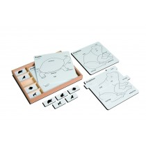 Animal Puzzle Activity Set/020301     NH-217.1   ■SOLD OUT■QUOTE REQUIRED■