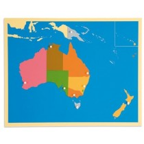 AUSTRALIA – Puzzle Map/0176H0     NH-229   ■SOLD OUT■QUOTE REQUIRED■