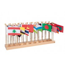 Flag Stand & Flags - Asia/023200    NH-231.3   ■SOLD OUT■QUOTE REQUIRED■