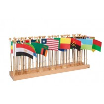 Flag Stand & Flags - Africa/0233B0    NH-231.4   ■SOLD OUT■QUOTE REQUIRED■