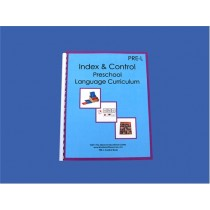 Index & Instruction Language Book for Ages 3-6 ● PRE-L Index Book   ■ OUT OF STOCK■