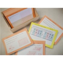 MATH LAB - CURRICULUM CARDS (Ages 3-6) ● PRE-M LAB      ●●SALE PRICE●●