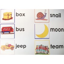 MIXED PICTURES FOR MOVABLE ALPHABET/152 ● S-132
