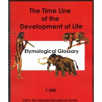 Etymological Glossary Booklet Only ● T-300.2