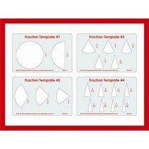 Fraction Templates (One Whole to the 24ths) ● TEM-MF-1-2-3-4