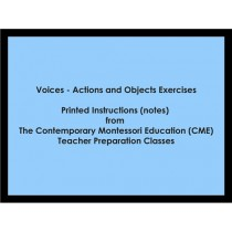 Voices - Actions and Objects Exercises (CME notes) ● LANG-CME-S-135-136