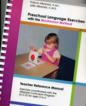 Preschool Language Manual of Montessori Presentations ● Book-TRM-PRE-L