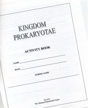 PROKARYOTAE Activity Book only ● CL-610-C