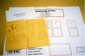 WORK CHART & BOOKLETS - Fungi ● CL-630-A-B-C