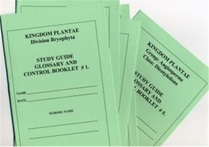 PLANTAE Set of 5 Study Guide Booklets only ● CL-640-B
