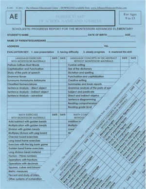 ADVANCED ELEMENTARY REPORTS ● F-102     ■LAST ONE IN HARD COPY■