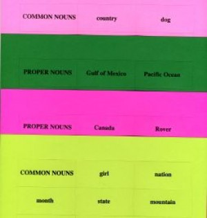 COMMON AND PROPER NOUNS ● GR-302