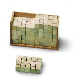 Wooden Cubes/250  GZ     GZ-190      ♣AVAILABLE qty 2♣
