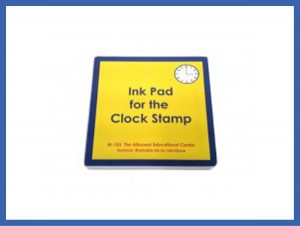 Large Ink Pad for the Clock Stamp ● M-153-S