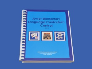 Language Control Book & Instruction Manual for Ages 6-9 ● JE-L.C