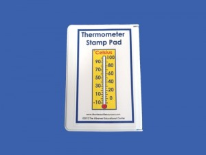 Celsius Thermometer Stamp Pad ● M-151-S