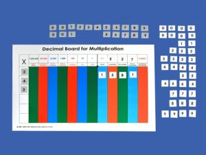 Decimal Board of Multiplication ● M-300