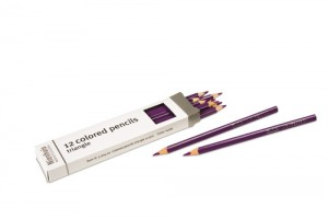 Box of 12 pencils: violet/720500     NH-051.8      ♣AVAILABLE qty 30♣