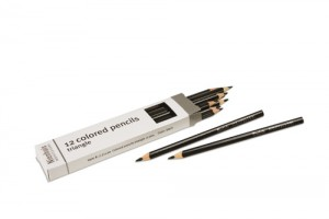 Box of 12 pencils: black/721100    NH-051.14     ♣AVAILABLE qty 7♣