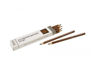 Box of 12 pencils: brown/721300   NH-051.17      ♣AVAILABLE qty 8♣
