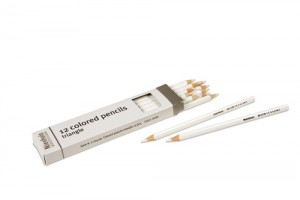 Box of 12 pencils: white/721400   NH-051.18     ♣AVAILABLE qty 13♣