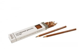 Box of 12 pencils: light brown/721700   NH-051.21    ♣AVAILABLE qty 20♣