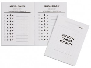 Addition Tables Booklet 2 / 559522     NH-116.2           SOLD OUT■