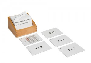 Multiplication Activity Set / 062101   NH-124.1    ♣AVAILABLE  qty 3♣