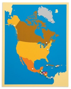 NORTH AMERICA – Puzzle Map/0176C0   NH-223   ■SOLD OUT■QUOTE REQUIRED■
