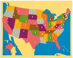 UNITED STATES - Puzzle Map/023600     NH-224   ■SOLD OUT■QUOTE REQUIRED■