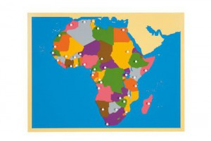 AFRICA – Puzzle Map/0176F0      NH-228   ■SOLD OUT■QUOTE REQUIRED■