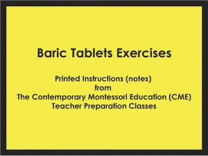 Baric Tablets Exercises (CME notes) ● SENS-CME-035