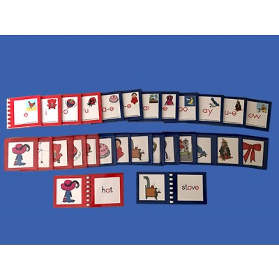 Movable Alphabet Picture Cards (14 Exercises & 14 Control Booklets) Laminated